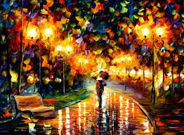 beautiful oil painting Leonid Afremov